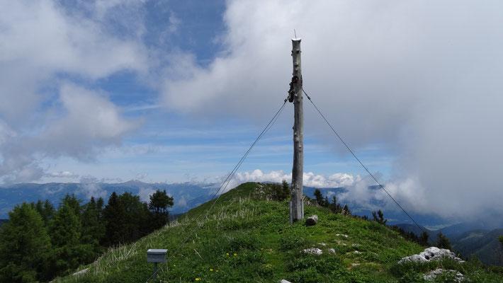 Gipfel Tschekelnock 1.892m