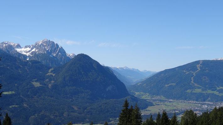 Blick zurück nach Lienz/Osttirol