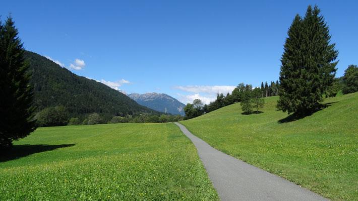 Radweg von Jadersdorf nach Hermagor