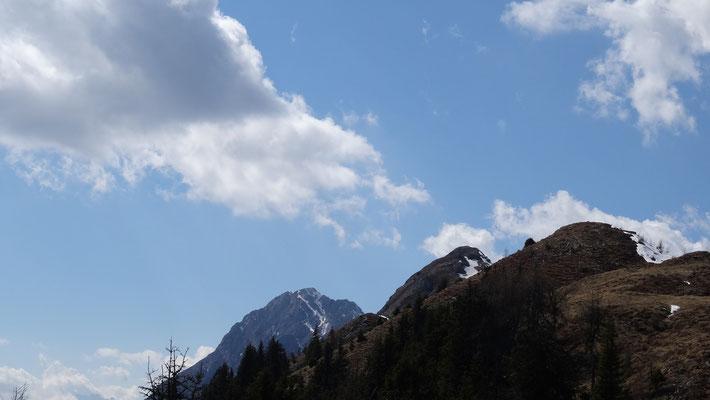 Sattelnock in Sicht (Bildmitte)