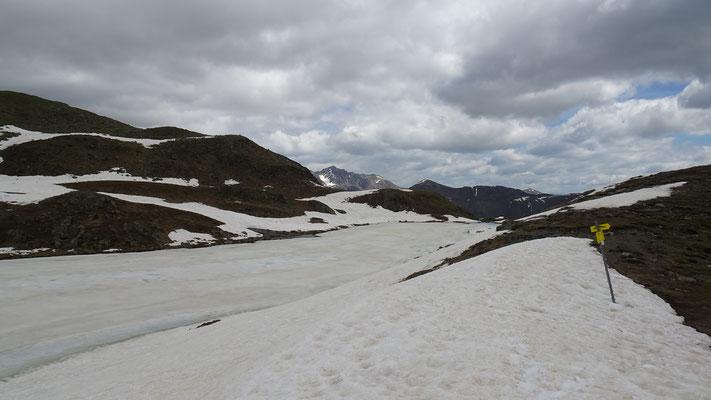 Der Zweisee war noch zugefroren