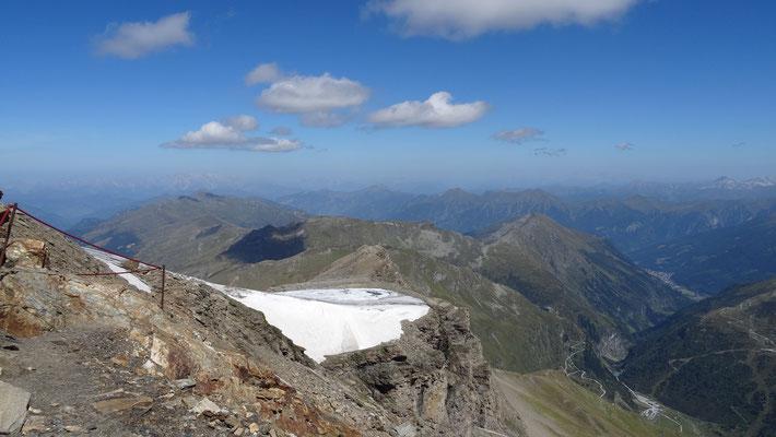 Aufstieg zum 1. Gipfel (Baumbachspitze 3.105 m)