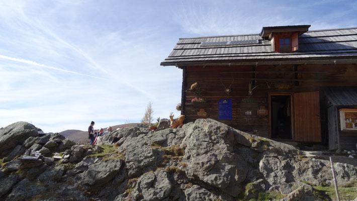 Einkehr auf der Oswalder Bockhütte