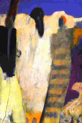 Halten und Stützen (2011) Acryl 47x33 cm 700,- EUR