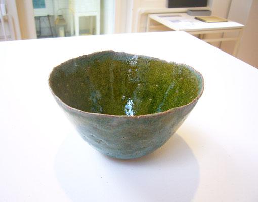 Bol vert #2,  grès(French ceramics), glaze, (+/-)dia. 11x h:7 cm / Price on request