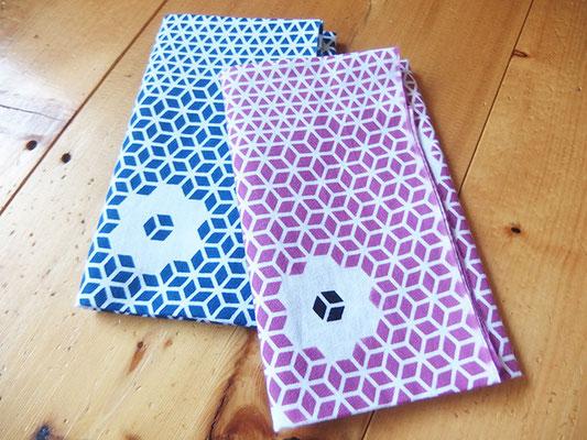 立川志の八様 2016年度版手ぬぐい2色 Tenugui towels for Mr. Shinohachi Tatekawa, 2016