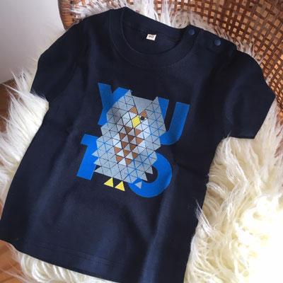 ABC Animals カスタムベビーTシャツ customized baby T-shirt