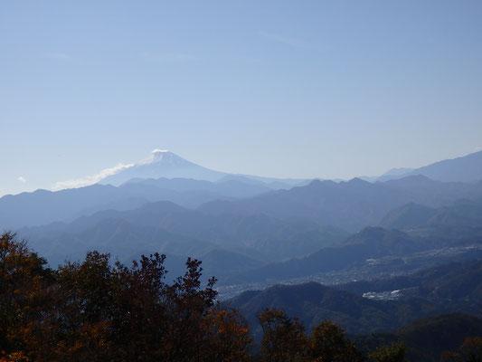 ここでも大きな富士山!