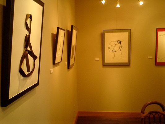 11. 2007 『遊び/PERSPECTIVE』展 in Asahigaoka Gallery in Yamanako