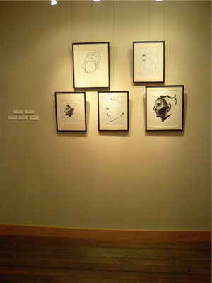 "8. 2006 『人』展 ""The People"" in Asahigaoka Gallery in Yamanako"