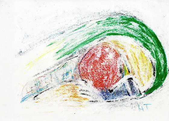 (Sold)  真昼の夢 Day Dream クーピー 2006 Ⓒ Hanae Tanazawa