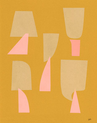 Winter Forest   origami paper-cut   2015 ©︎ Hanae Tanazawa