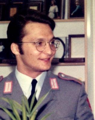 FAH als junger Soldat 1985