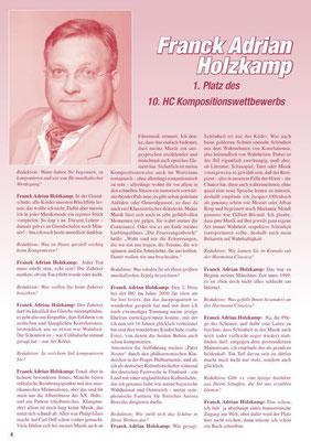 """Interview in der Zeitung der """"Harmonia Classica"""" Wien 2017"""