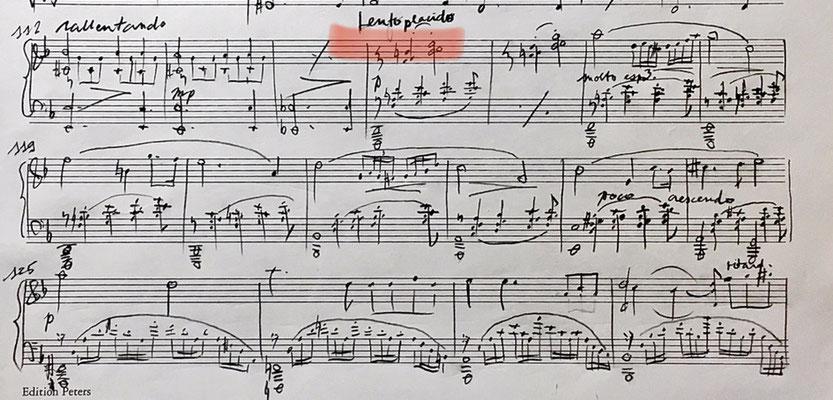 Skizze zur Sonate in d (w 274) 2020