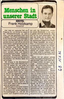"""""""Komponist"""" Westfalenblatt 1982"""