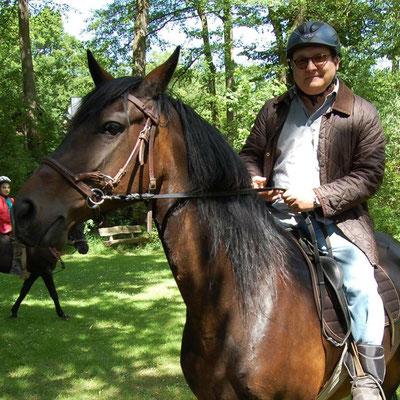 FAH auf Frieda... das Glück der Erde liegt eben doch auf dem Rücken der Pferde!