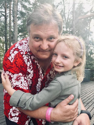 FAH mit Tochter Gesa 2019 in Naantali