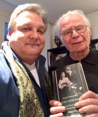"""FAH mit Herbert Baumann und """"Duetto Concertante"""" 2019... das letzte gemeinsame Foto"""
