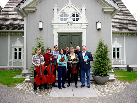 FAH mit dem Tuusulanjärven Juosiorkesteri 2013