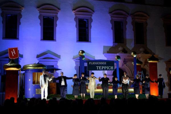 """Premiere von Mozarts """"Entführung"""" in einer Kammermusikfassung von FAH am Schlosstheater Celle 2013"""