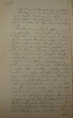 Archiv des Evangelischen Kirchenkreises Wittgenstein, Acta spezialia: 144 Fischelbach (Attest G. Kühne, Seite 1)