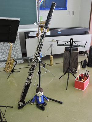 MINAMIさんの演奏するファゴット