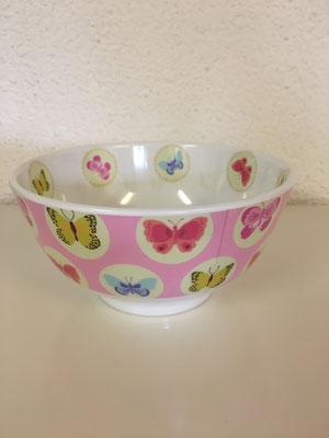 Schmetterling rosa; H: 7.5 cm, Durchmesser 7.5 cm, 13.--