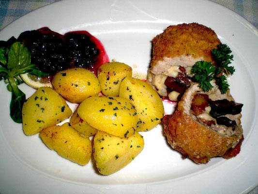 Gutes Essen im Trachtenheim Irschenberg
