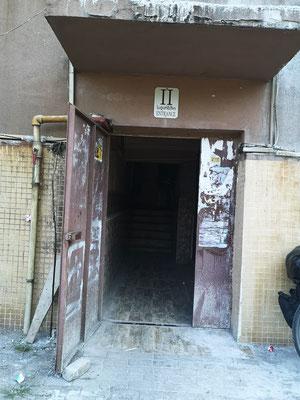 Eingang zum Fährbüro