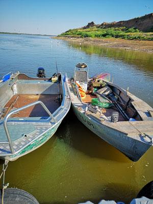 Vetlyanka zwischen Wolgograd und Astrachan