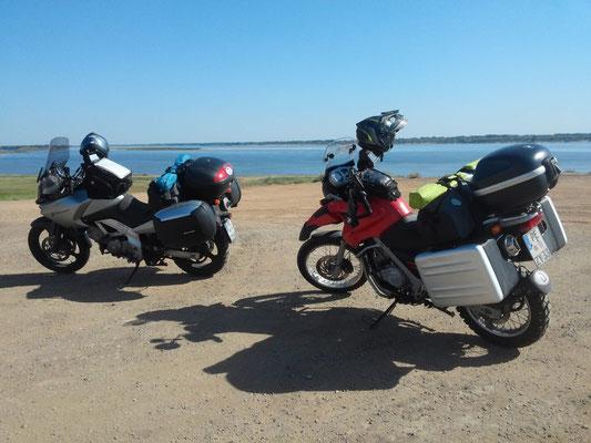 kurz vor Astrachan
