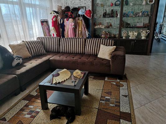 Hotel Parusa Maklaia/Baturyn mit Museum