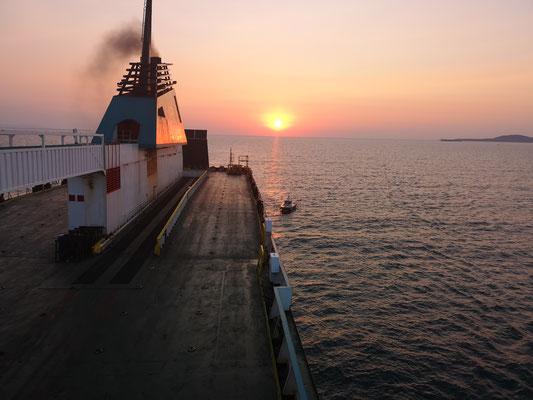 Sonnenaufgang bei Burgas