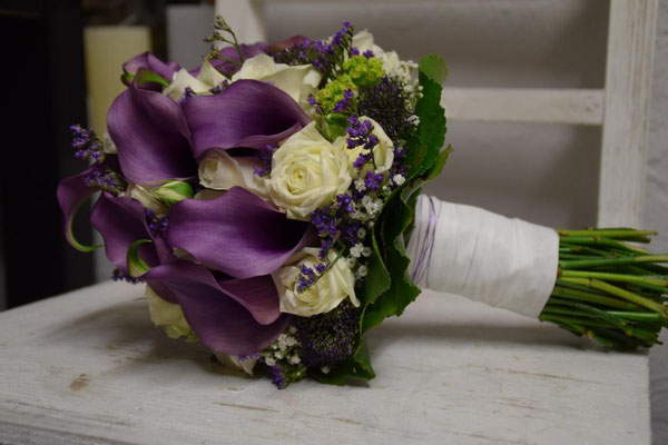 Brautstrauss von der Blumenscheune Utphe