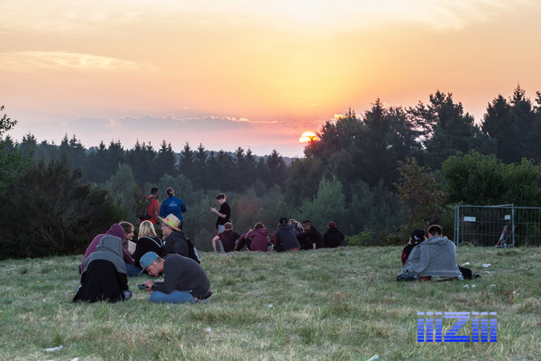 Morgengrauen am Ende der Nature One 2015