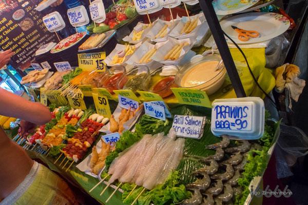 tägliches street-food im Zentrum von Lamai