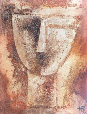Cycladic Face 1