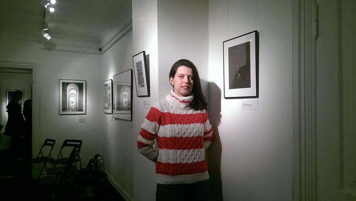 """Моя работа """"Сверчков переулок"""" в арт-студии Cаtacomba."""
