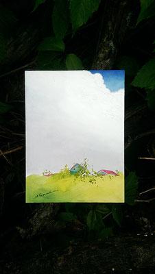 """Из серии """"В заросшем саду"""". Облако"""