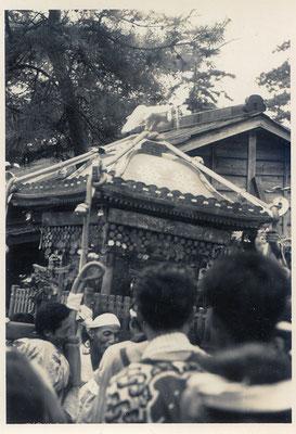 裏面に昭和39年9月14日のスタンプあり