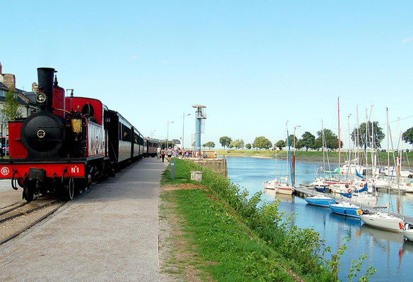 Petit train de la Baie de Somme - Camping Quend-Plage - Baie de Somme - Camping Fort-Mahon - Picardie - locations Mobil-Home - location insolite - Camping Clos des Genêts