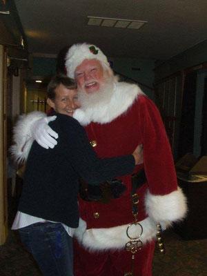 Santa with Sue