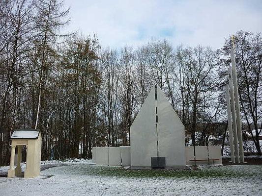 Kreuzbergkapelle / 28.11.2015 - erster Schneefall