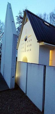 Eingang zur Kapelle