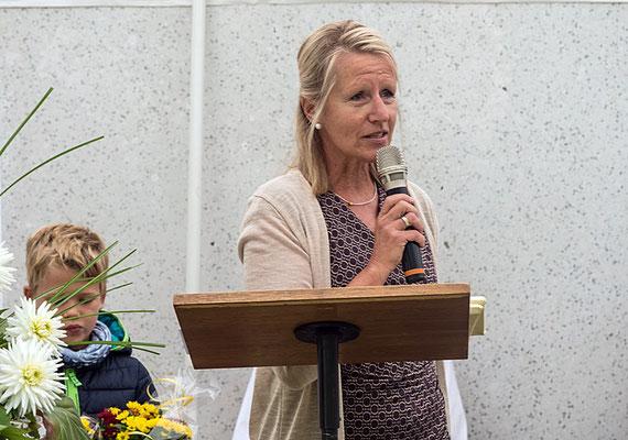 Dankes-Worte der ersten Vorsitzenden Christa Hiller