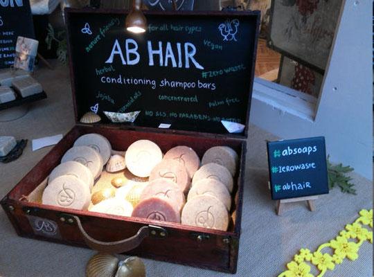 Shampoo e balsamo solidi