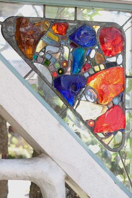 Glaskunst Franz Heili Kunst im Garten