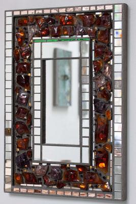 Spiegelmosaik Spiegel Franz Heili Glasbrocken