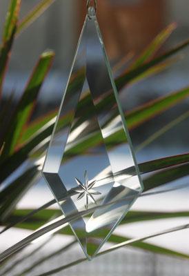 Facettenglas, Glaskette, Ideen aus Glas